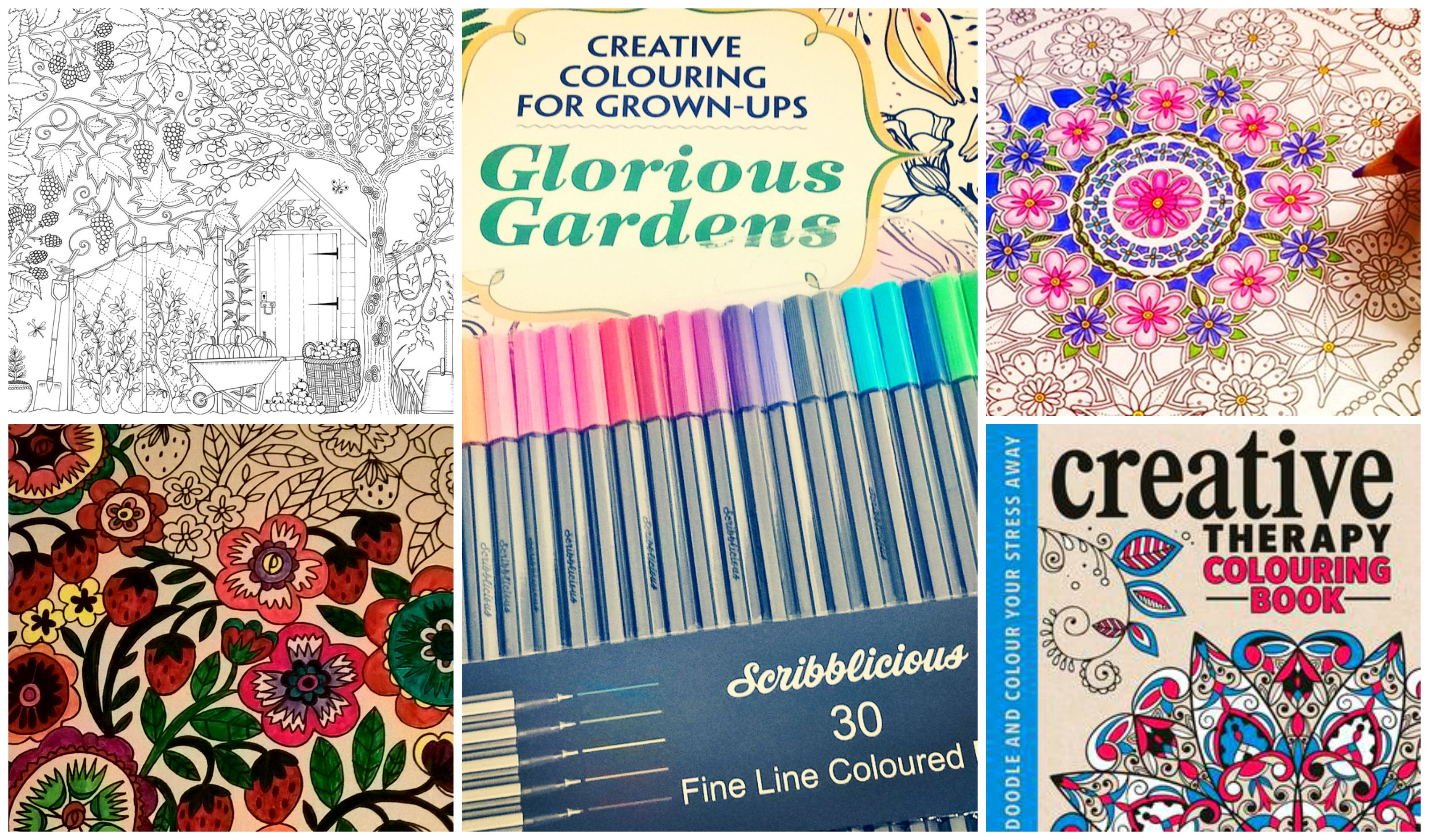 Color book for me - Colouringbookcollage1